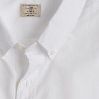J.Crew Tall Secret Wash Shirt In White