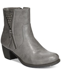 Easy Street Shoes Easy Street Rylan Booties Women's Shoes Grey