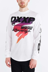 10.Deep Race Day Long Sleeve Tee White