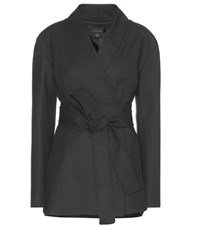 Ellery Wrap Jacket Black