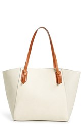 Sole Society Faux Leather Trapeze Tote