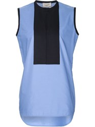 Lanvin Sleeveless Top Blue