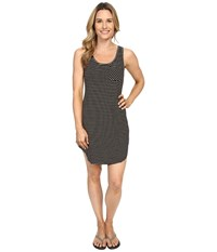 Kavu Leonora Dress Black Tan Women's Dress