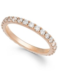 Arabella Swarovski Zirconia Infinity Band In 14K White Gold Rose Gold