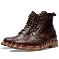 Grenson Fred Triple Welt Brown Chomexcel