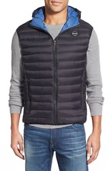 Men's Schott Nyc Down Hooded Vest