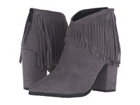 Kenneth Cole Reaction Pull Ashore Charcoal Suede Women's Shoes Gray