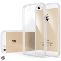 Bol.Com Bumper Iphone 5 And 5S Wit Hybride Achterzijde Transparant Elektronica...