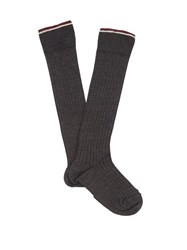 Isabel Marant Zina Silk Blend Socks Dark Grey