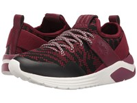 Fly London Salo825fly Red Knit Leather Women's Shoes