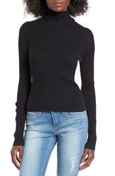 Women's Bp. Rib Knit Turtleneck Sweater