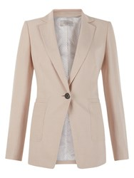 Hobbs Lillie Long Jacket Cappuccino