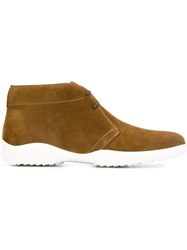 Bally Lace Up Desert Boots Brown