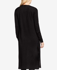Vince Camuto Open Front Cardigan Rich Black