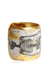 Evocateur Skeleton Cuff Bracelet
