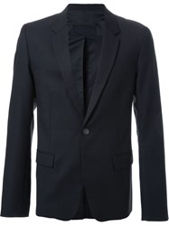 Strateas Carlucci One Button 'Proto' Blazer Black