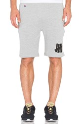 Undefeated 5 Strike Sweatshort Gray