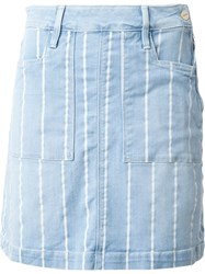 Frame Denim 'Le Frana Oise' Skirt Blue