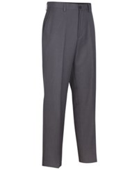 Greg Norman For Tasso Elba Men's Big And Tall Heathered Golf Pants Grey Heather