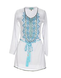 Taj Shirts Kaftans Women White