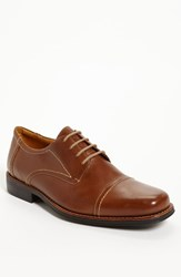Men's Sandro Moscoloni 'Whitman' Cap Toe Derby Brown