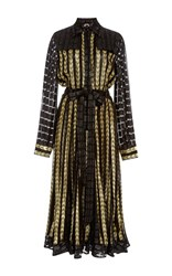 Dodo Bar Or Alanis Midi Trench Dress Gold