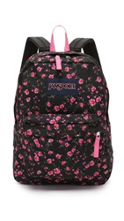 Superbreak Backpack Lipstick Pink Tea Rose Ditzy