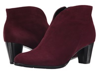 Ara Tricia Burgundy Suede Women's Dress Pull On Boots