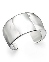 Ippolita Sterling Silver Senso Wide Textured Surface Cuff