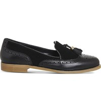 Office Ringo Leather And Suede Loafers Black Leather Suede