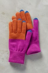 Anthropologie Montijo Gloves Pink