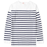 Arpenteur Long Sleeve Marinere Tee White