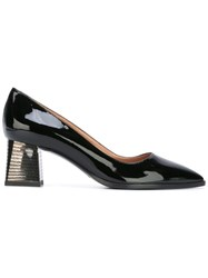 Pollini Bell Heel Pumps Black