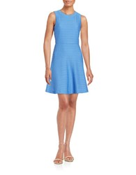 Donna Morgan Textured Fit And Flare Dress Cabin