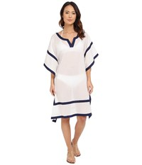 Vince Camuto Shore Side Tunic Cover Up Navy Women's Swimwear