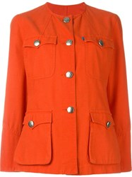Christian Lacroix Vintage Pocket Jacket Red