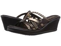Skechers Cali Rumblers Wild Child Bronze Women's Sandals