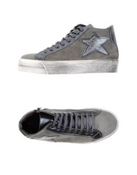 Giu.M.I.Da High Tops And Trainers Grey