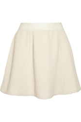 Elizabeth And James Alanis Textured Stretch Knit Mini Skirt