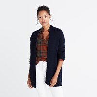 Madewell Postscript Cardigan Sweater Eyelet White