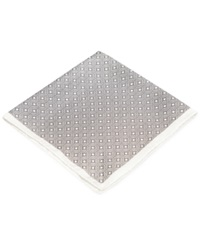 Ryan Seacrest Distinction Pacific Geo Pocket Square Only At Macy's White