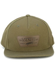 Vans Logo Patch Cap Green