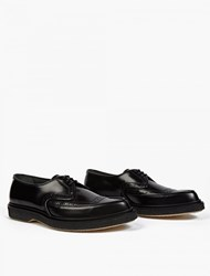 Adieu Black Leather Wtype 52 Pointed Brogues