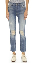 Mother The Vagabond Slouchy Straight Jeans Reckless
