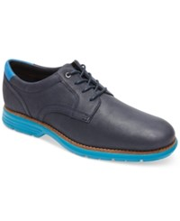 Rockport Men's Total Motion Fusion Plaintoe Oxford Shoes Men's Shoes Dress Blue