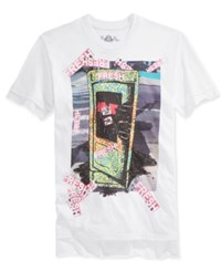 American Rag Men's Fresh Graphic Print T Shirt Only At Macy's White