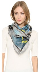 Yigal Azrouel Free Fly Scarf Sky