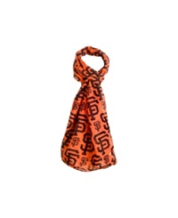Forever Collectibles San Francisco Giants All Over Logo Infinity Scarf Black