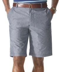 Dockers Flat Front Perfect Short Faded Navy Chambray