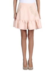 Dress Gallery Mini Skirts Light Pink